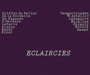 ECLAIRCIES