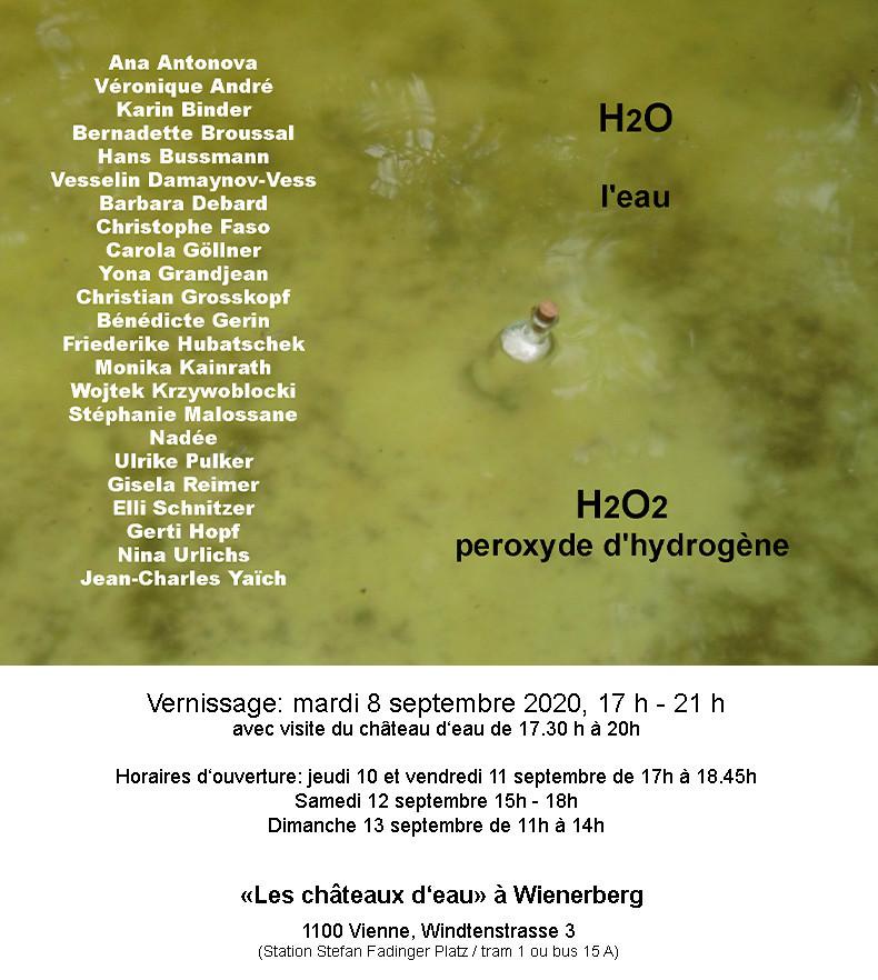 H20 : H2O2 / Eau : Peroxyde d'Hydrogène