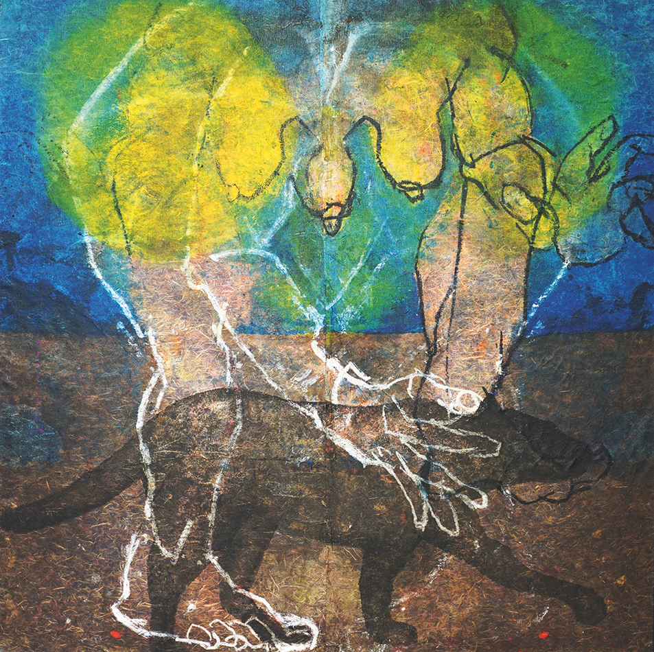 Entre terre et ciel – Marie-Christine Palombit