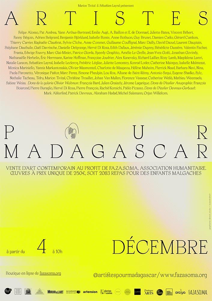 100 artistes pour Madagascar