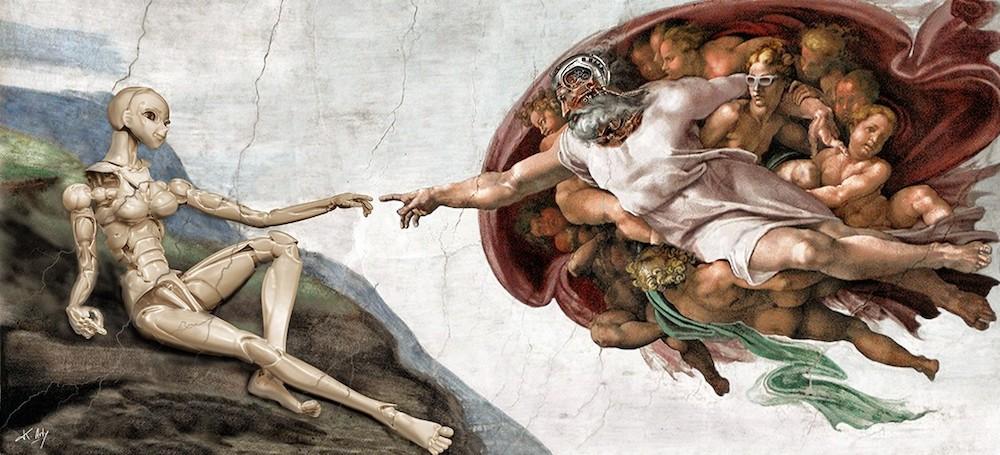 L'humanité 2.0 de K. Arty
