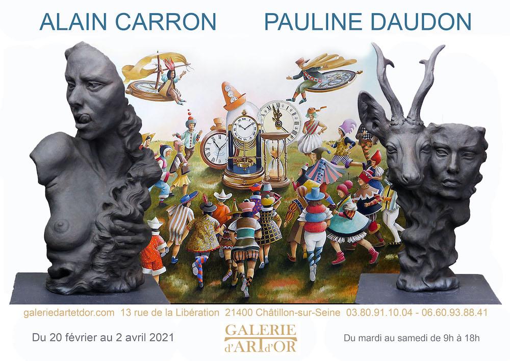 Alain Carron – Pauline Daudon