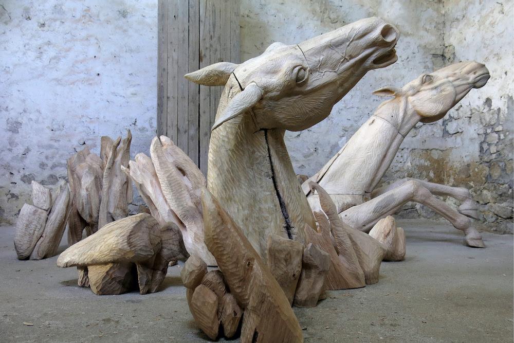 Les Chevaux du Temps -Clarisse Griffon du Bellay