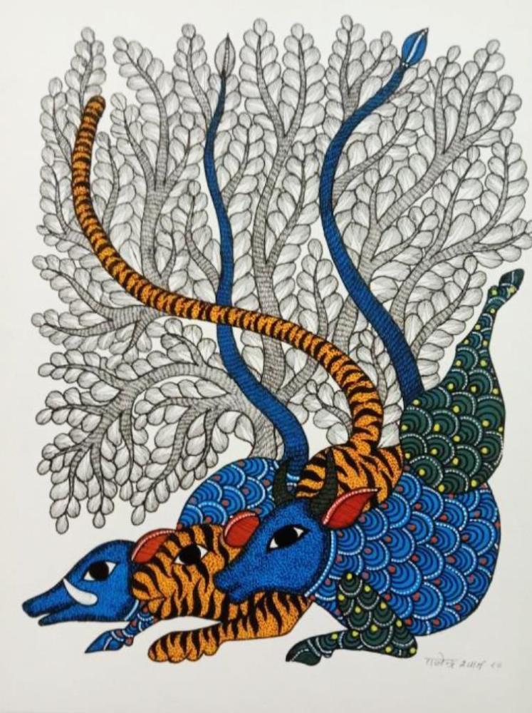 Les arbres dans l'Art Tribal de l'Inde