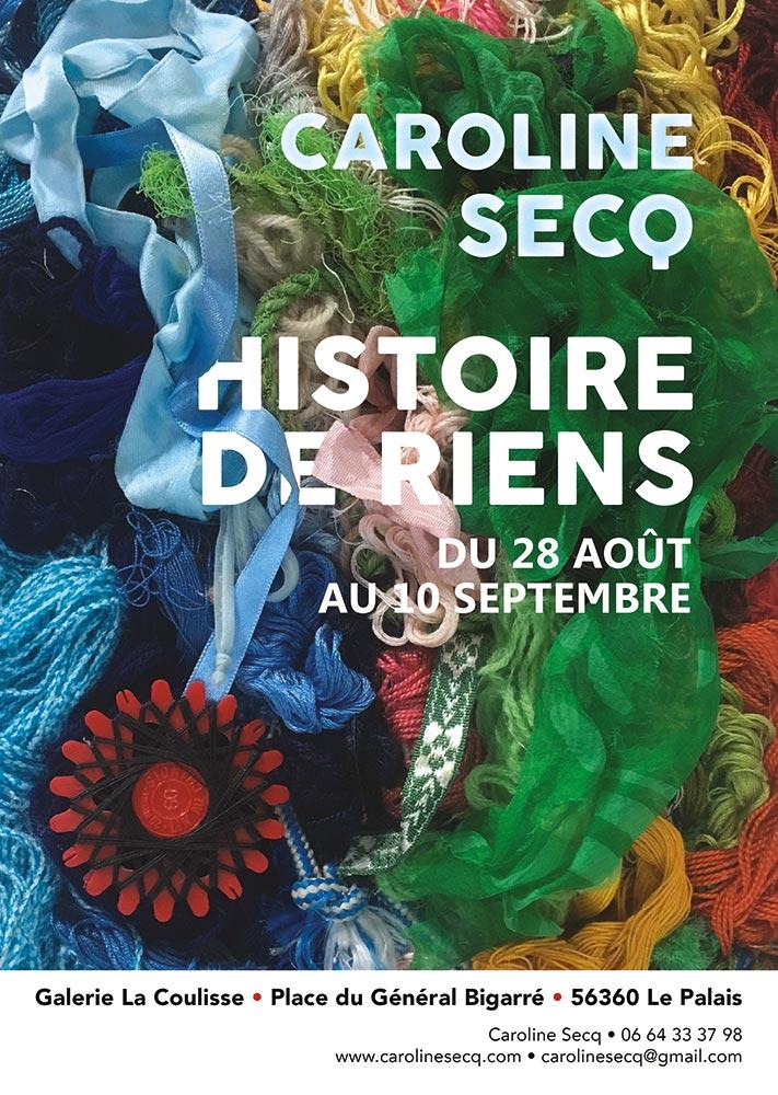 Histoire de Riens – Caroline Secq