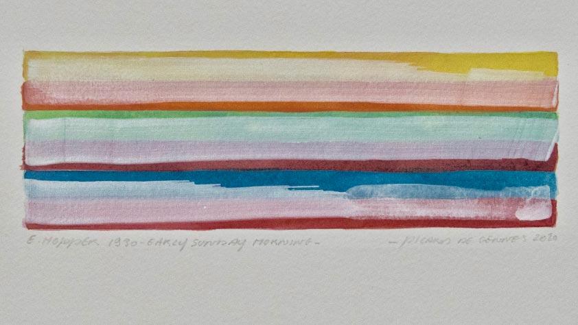 Les couleurs d'Edward Hopper – Picard de Gennes